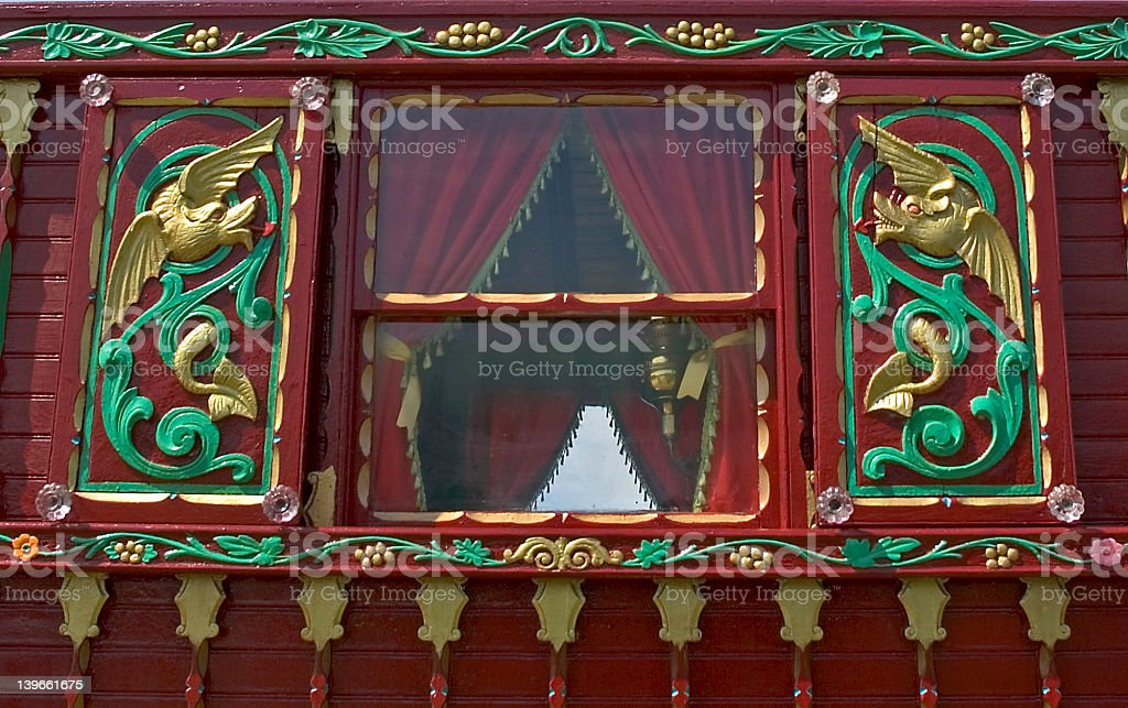Romany Carvings royalty-free stock photo