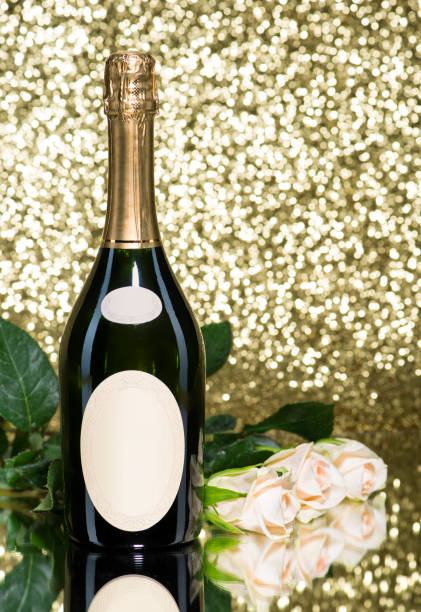 Royalty Free Champagne Bottle With Flowers Pictures Pictures Images