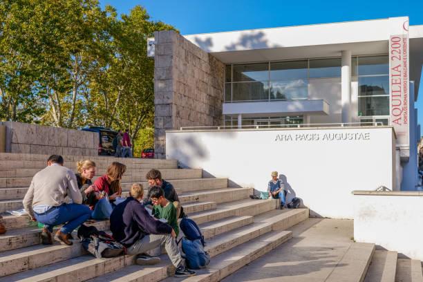 Rome - Ara Pacis - Auguste - Centre Historique - Forum Romain - La DH - Photo