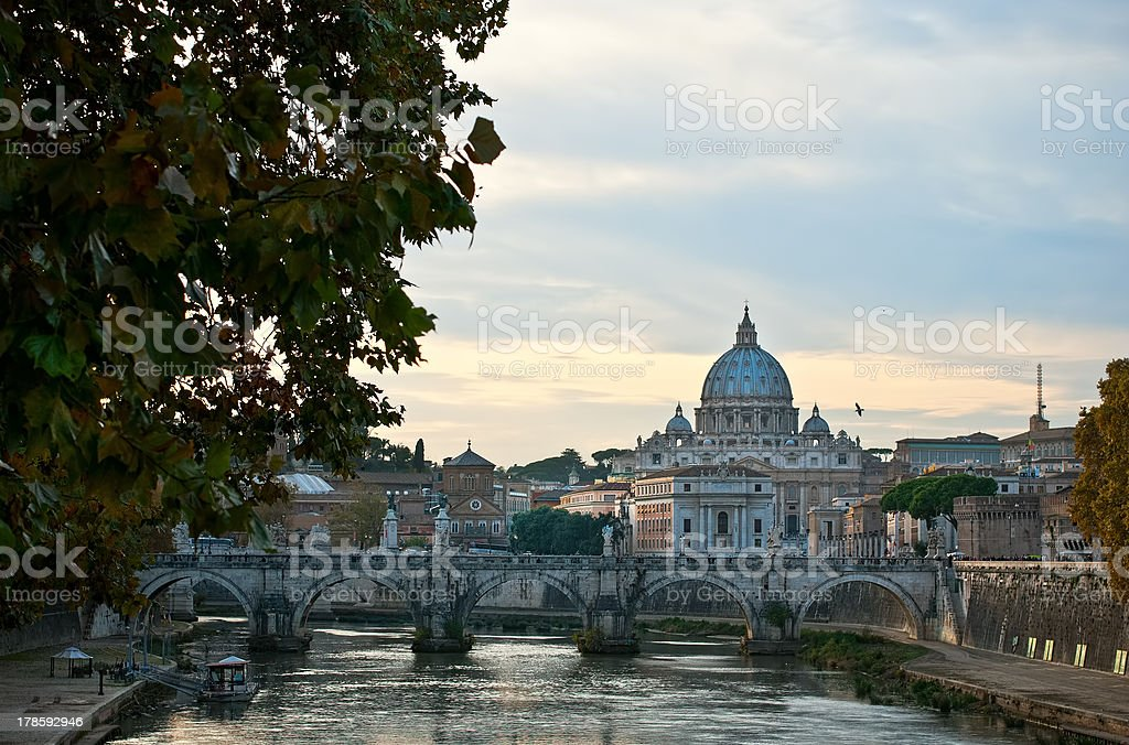 Rome. Basil. royalty-free stock photo