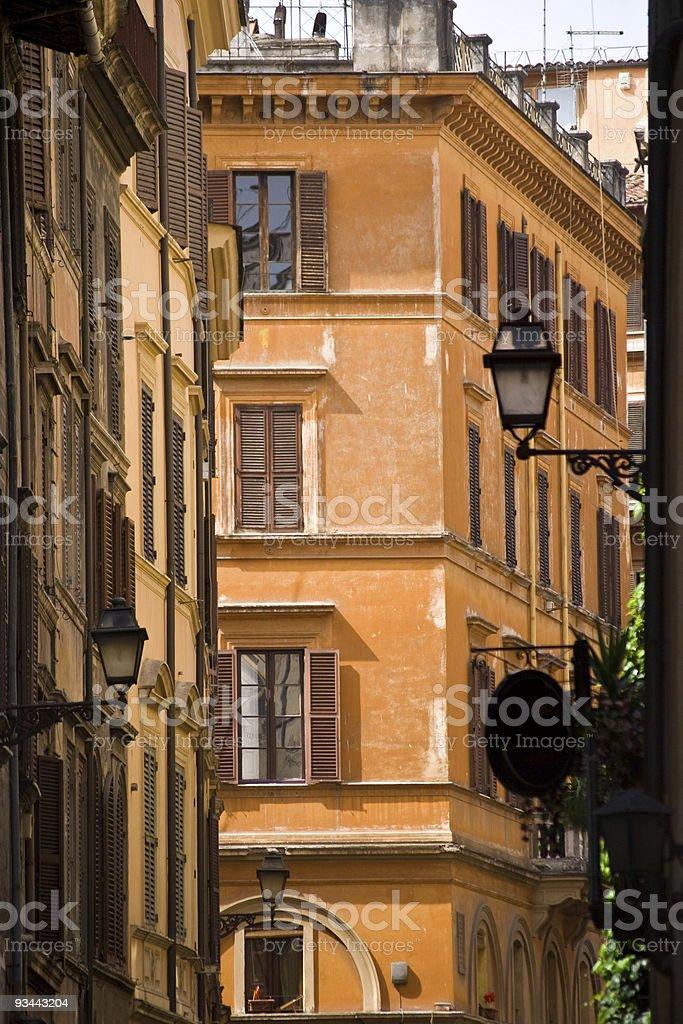 Stadtansicht von Rom Lizenzfreies stock-foto