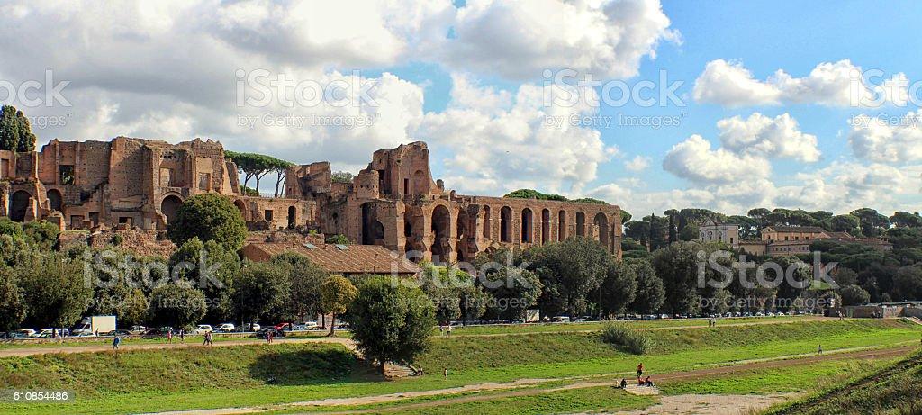 Rome - Colle Palatino stock photo