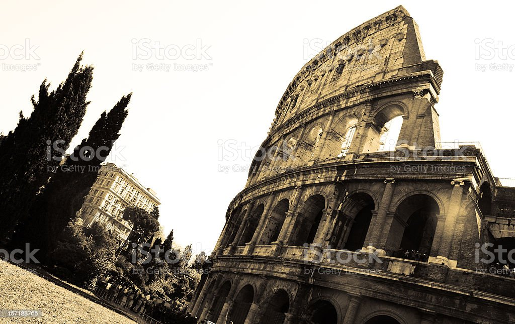 Rome - Colosseum royalty-free stock photo