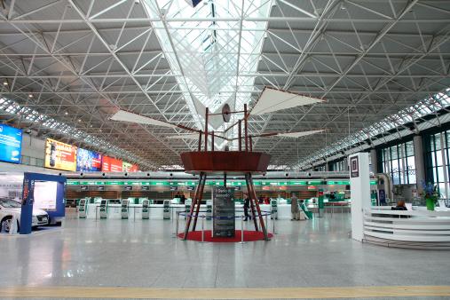 Aeroporto Di Roma Fiumicino Fotografie Stock E Altre Immagini Di Aeroporto Istock