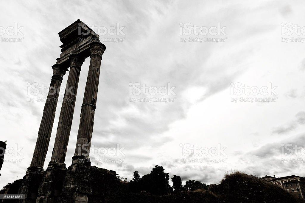Rome Forum stock photo
