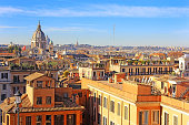istock Rome from the height 667724144