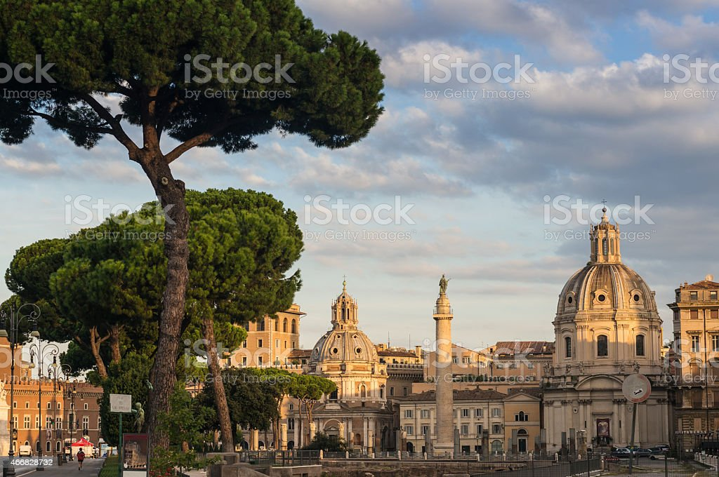 Rome - Imperial Forums stock photo