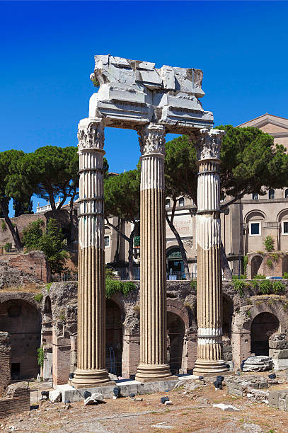 Rome Italy architecture and ruine Rome Italy architecture and ruine ruine stock pictures, royalty-free photos & images