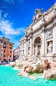 istock Rome, Italy - Fontana di Trevi 945244254