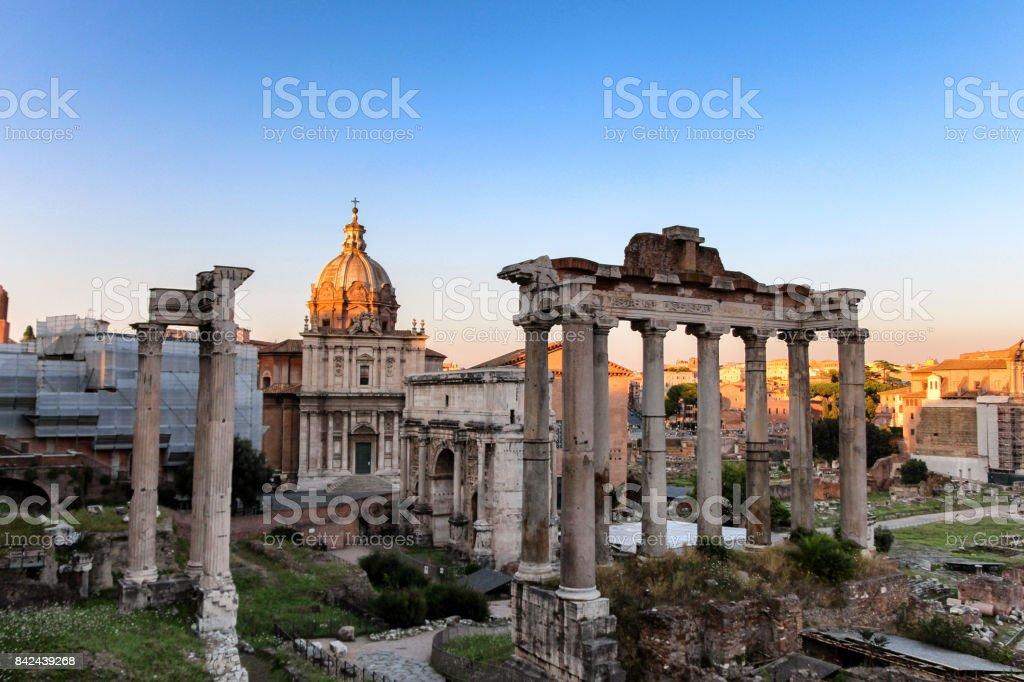 Rome, Italy - July 19, 2014 stock photo