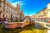 istock Rome, Italy - May 07, 2015 - Piazza Navona 514647462