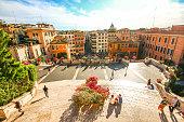 istock Rome, Italy - May 07, 2015 - Spanish Steps 509367470