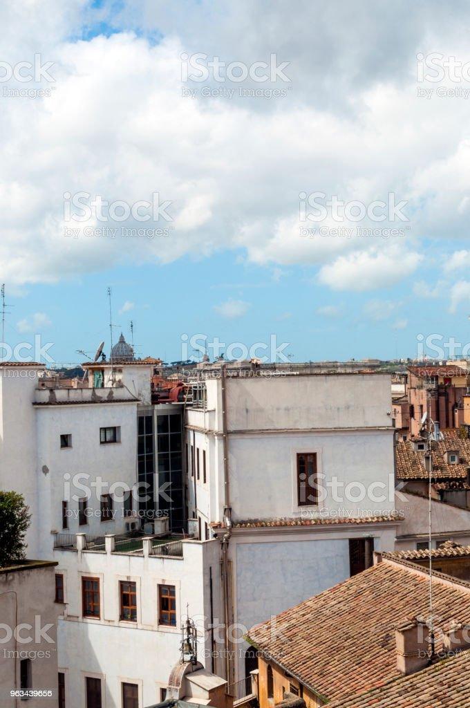 Rome, Italie: toits - Photo de Antique libre de droits