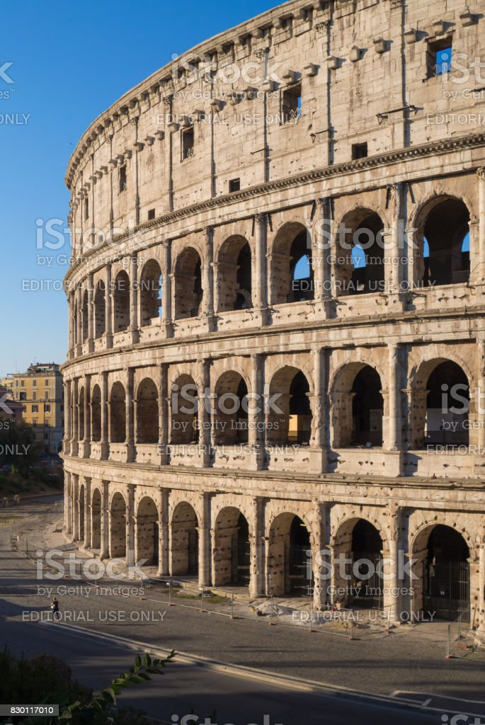 Rome, Italy - The imperial fora stock photo