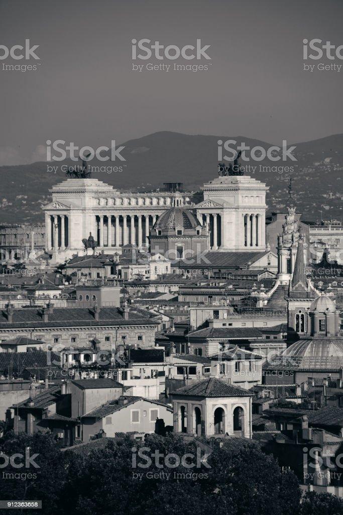 Rome landmark stock photo