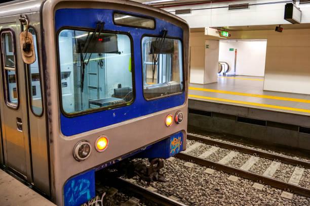 Rome - Metro - Subway stock photo