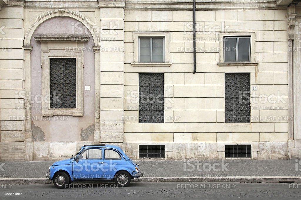 Roma oldtimer auto - foto stock