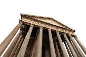 istock Rome Pantheon isolated on white background - Italy 1146005189
