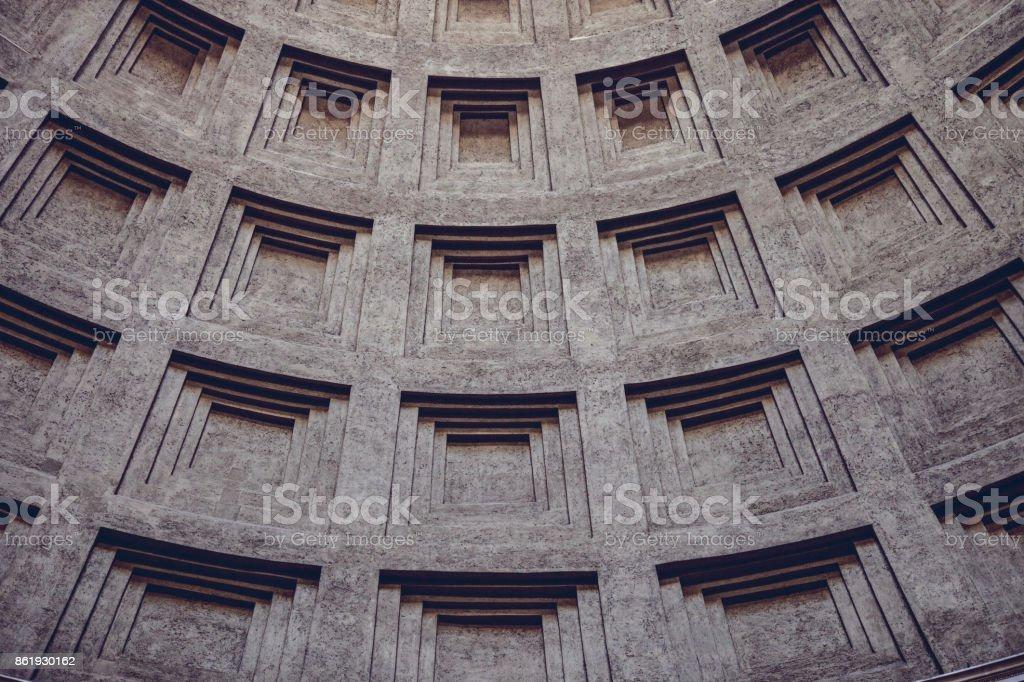 Rome Pantheon - Italy stock photo