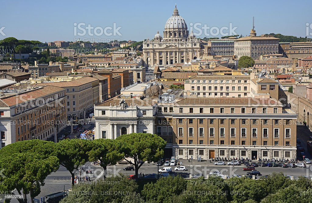Rome royalty-free stock photo