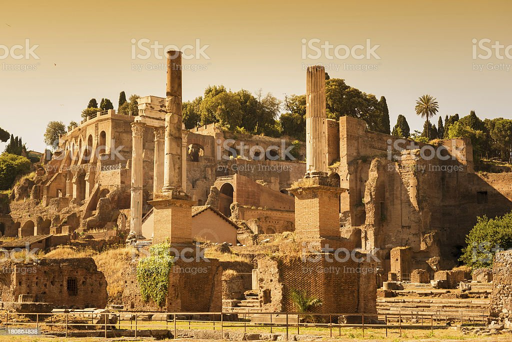 Rome ruin royalty-free stock photo