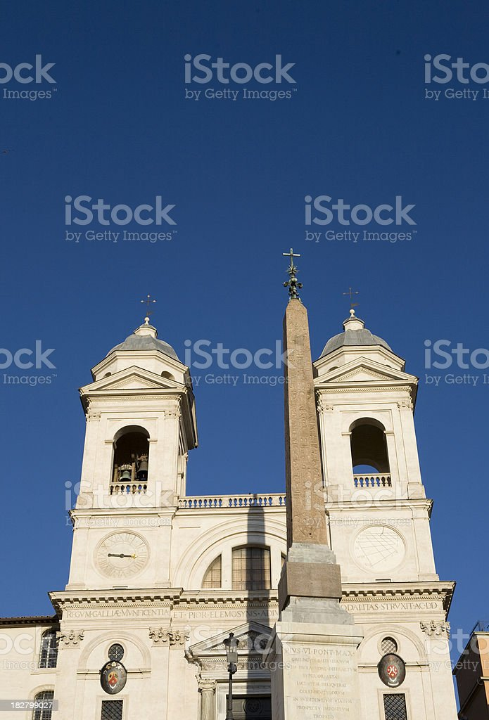 Rome Skyline stock photo