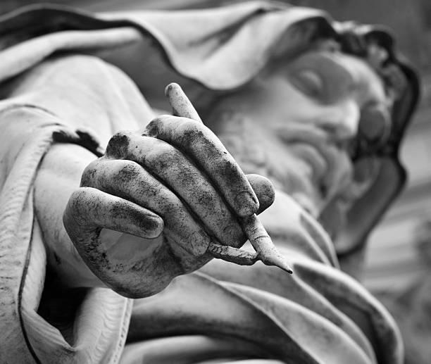 Rome - st. John the Evangelis stock photo