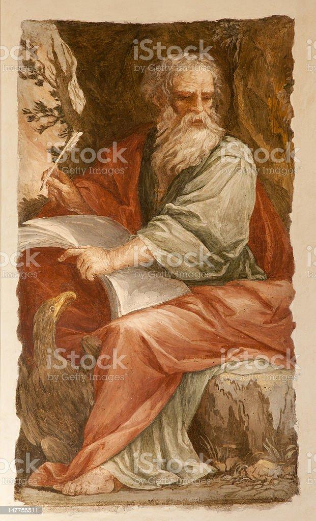 Rome - st. John the Evangelist stock photo