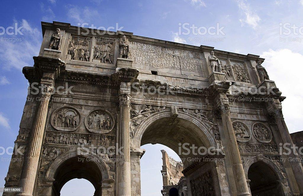 로마 기호들 royalty-free 스톡 사진