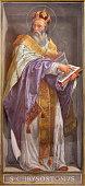 istock Rome -  The fresco of St. John Chrysostom 599704624