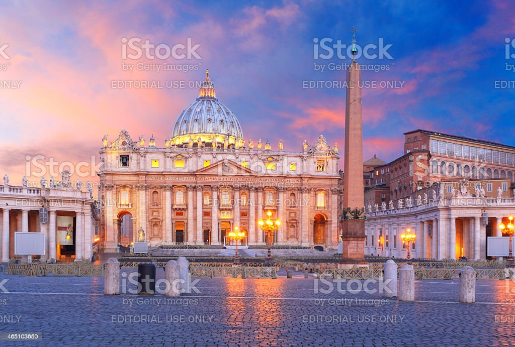 Rome, Vatican city stock photo