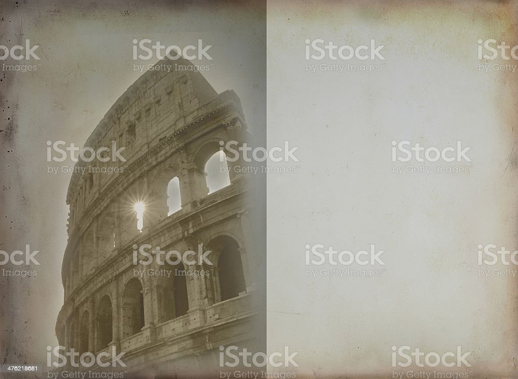 Rome view royalty-free stock photo