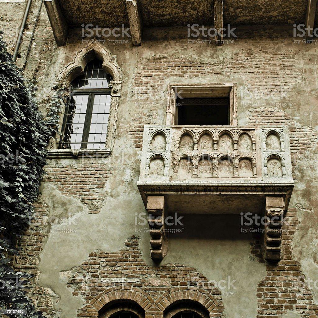 Romeo and Juliet balcony royalty-free stock photo