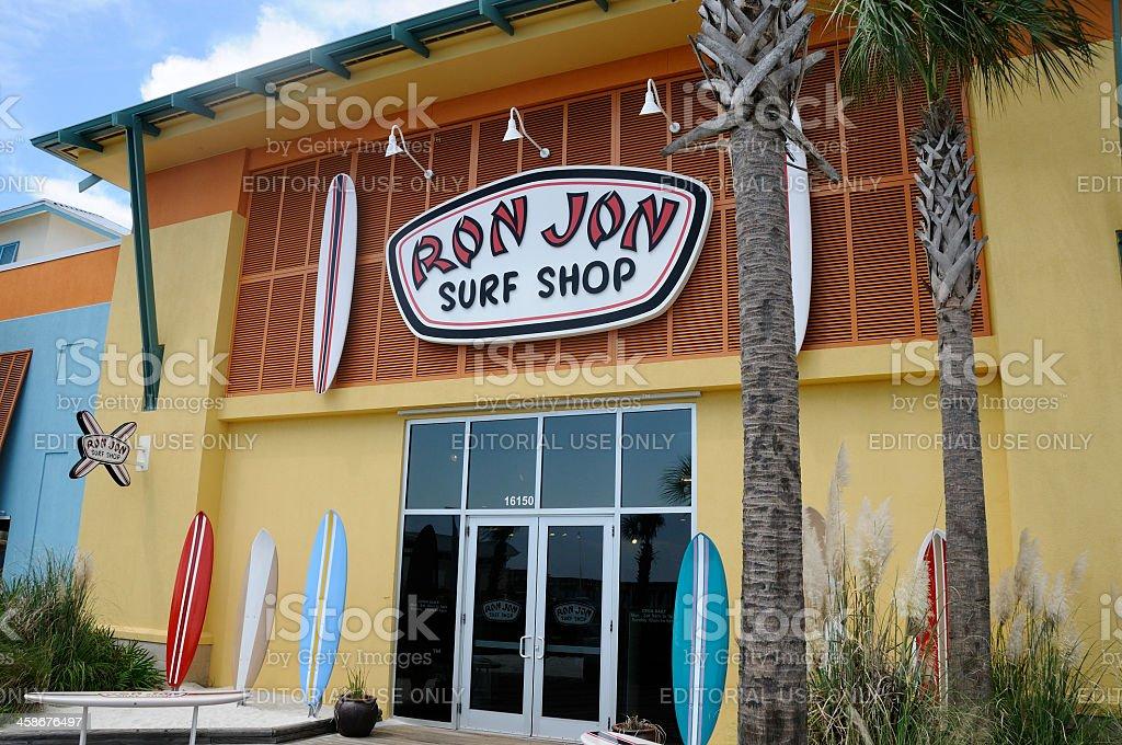 Ron Jon Surf Shop stock photo