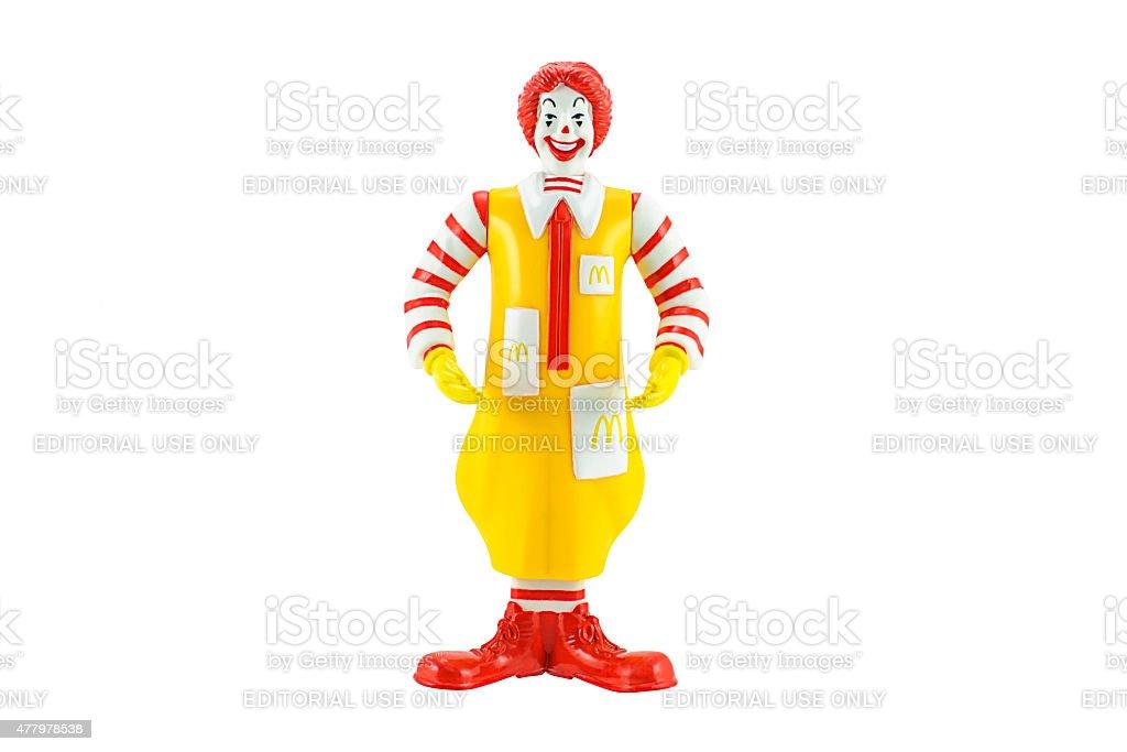 Ronald Mcdonald Mascot stock photo