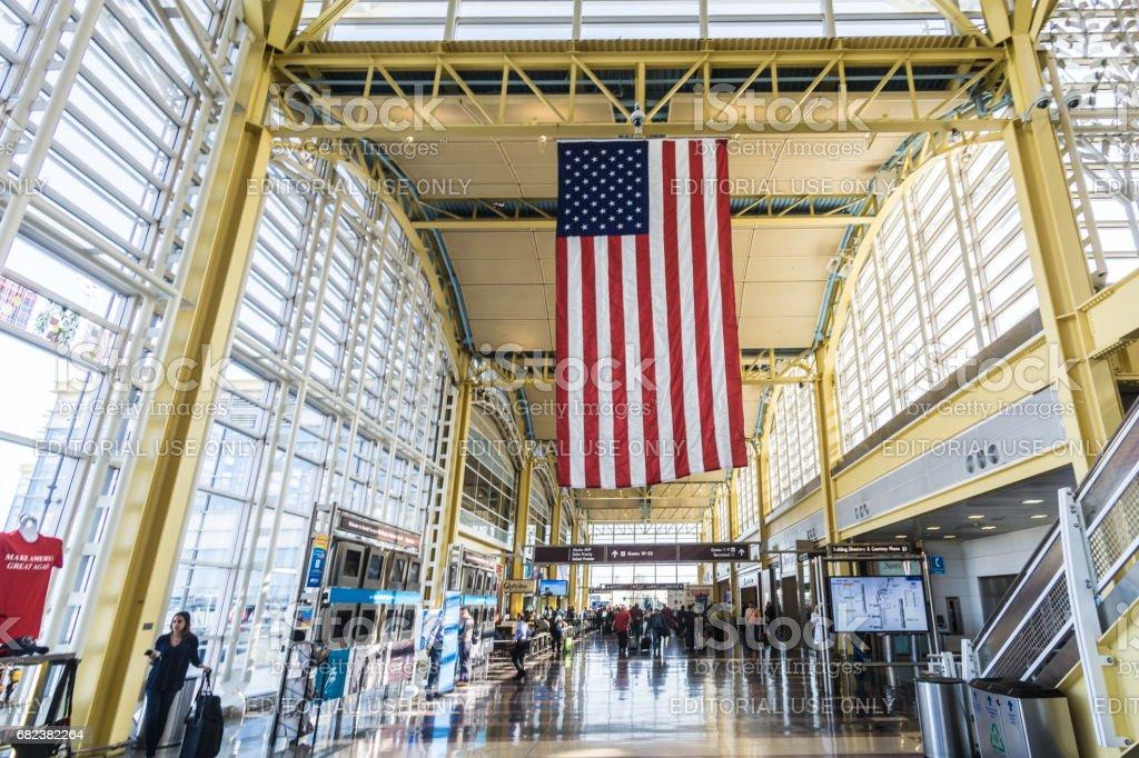Ronald Reagan Washington National Airport royaltyfri bildbanksbilder