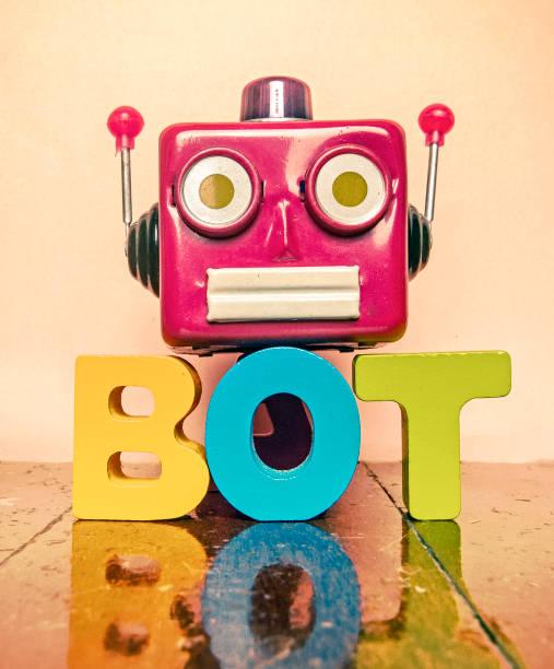 ronbot kopf bot - converse taylor stock-fotos und bilder