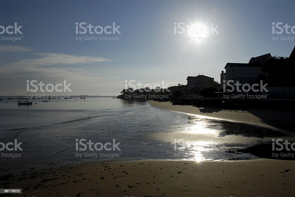 Ronce Beach royalty-free stock photo