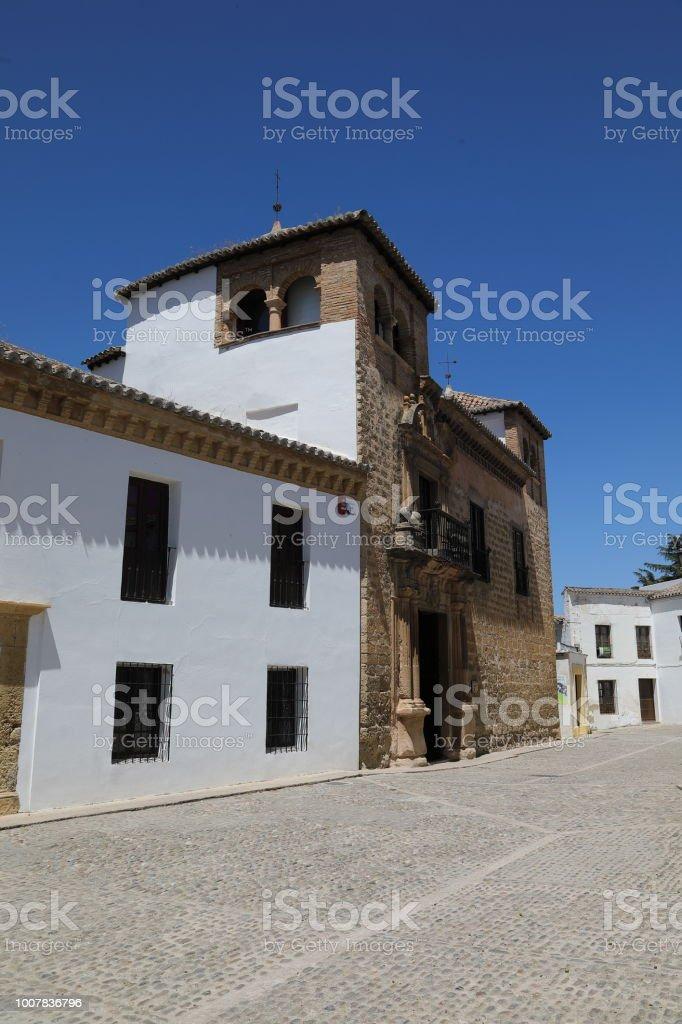 Ronda the Mondragón Palace stock photo