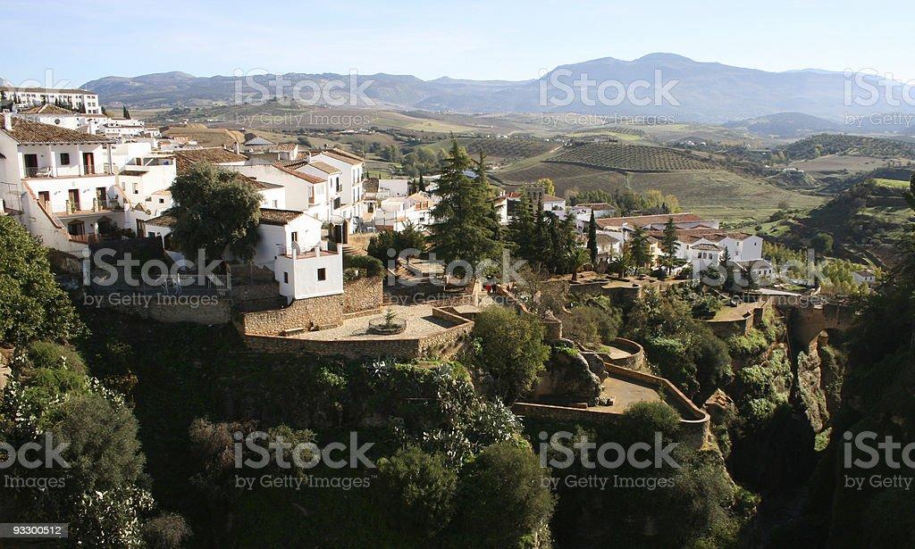 Ronda Village, Andalucia, Spain Nobody royalty-free stock photo