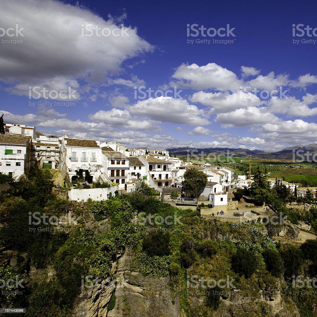 ronda village royalty-free stock photo