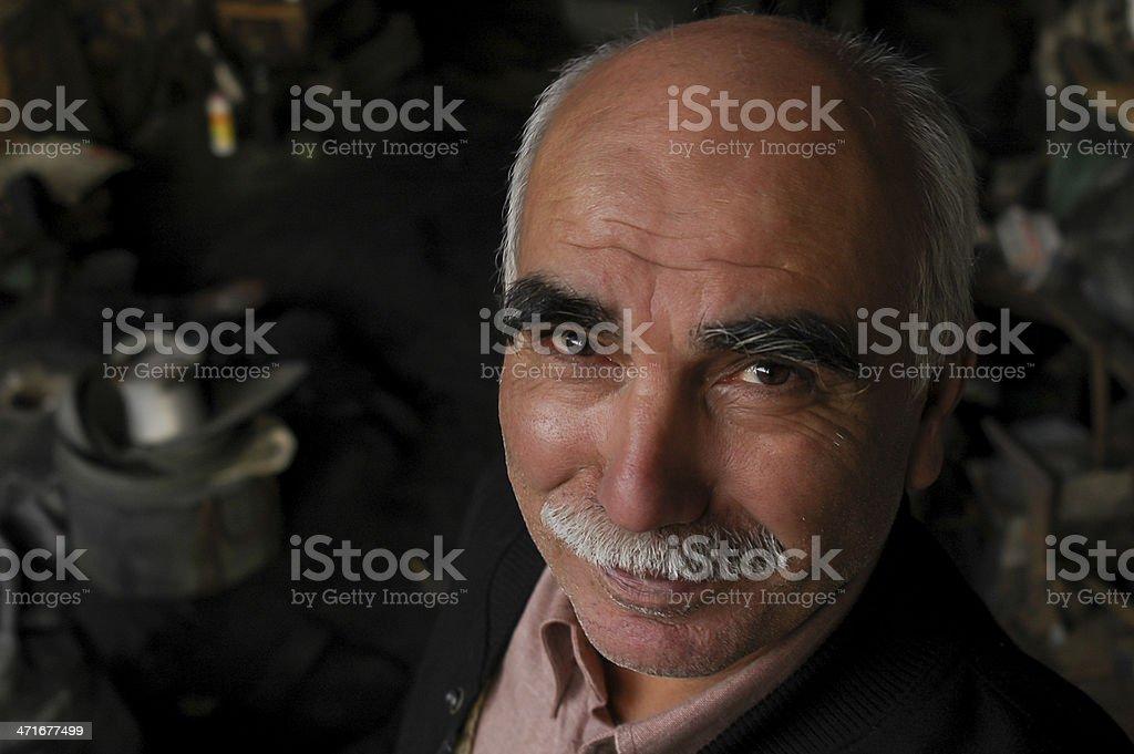 İronmaster Portrait royalty-free stock photo
