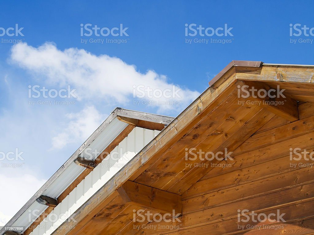 Roof abstract stock photo