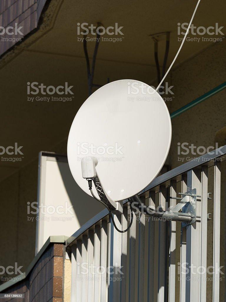 Roof antenna stock photo