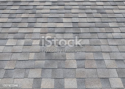 roof, 3d rendering, gray color