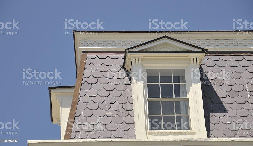 Roof, Charleston, South Carolina royalty-free stock photo