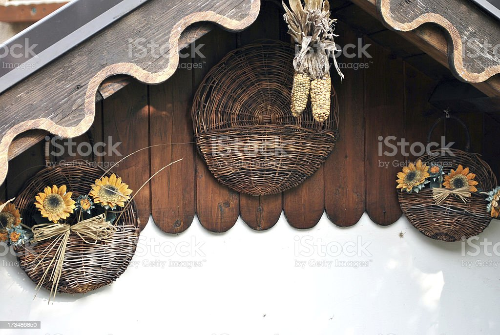 roof decorations royalty-free stock photo
