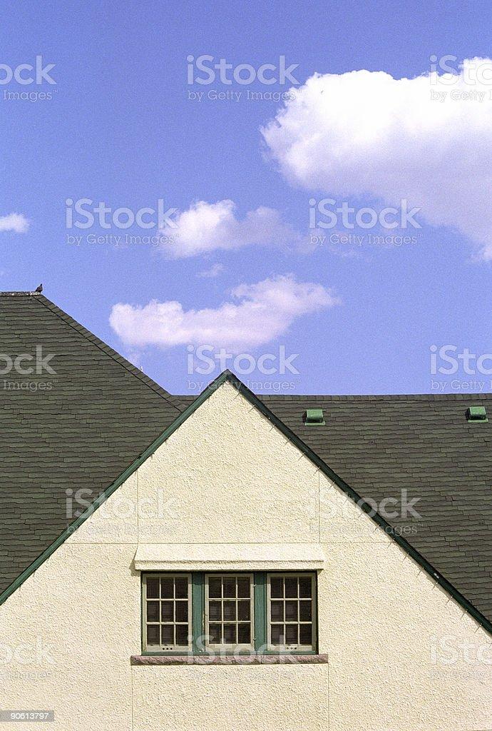 Roof Detail, Jasper Train Station - 1 stock photo