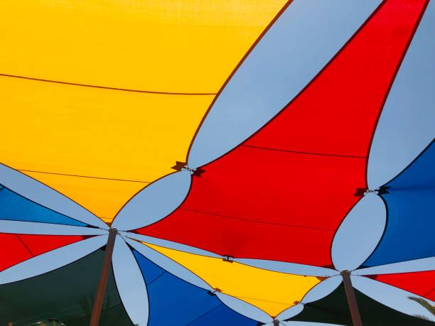 von der Sonne auf dem Spielplatz Boot Dach, Küste – Foto