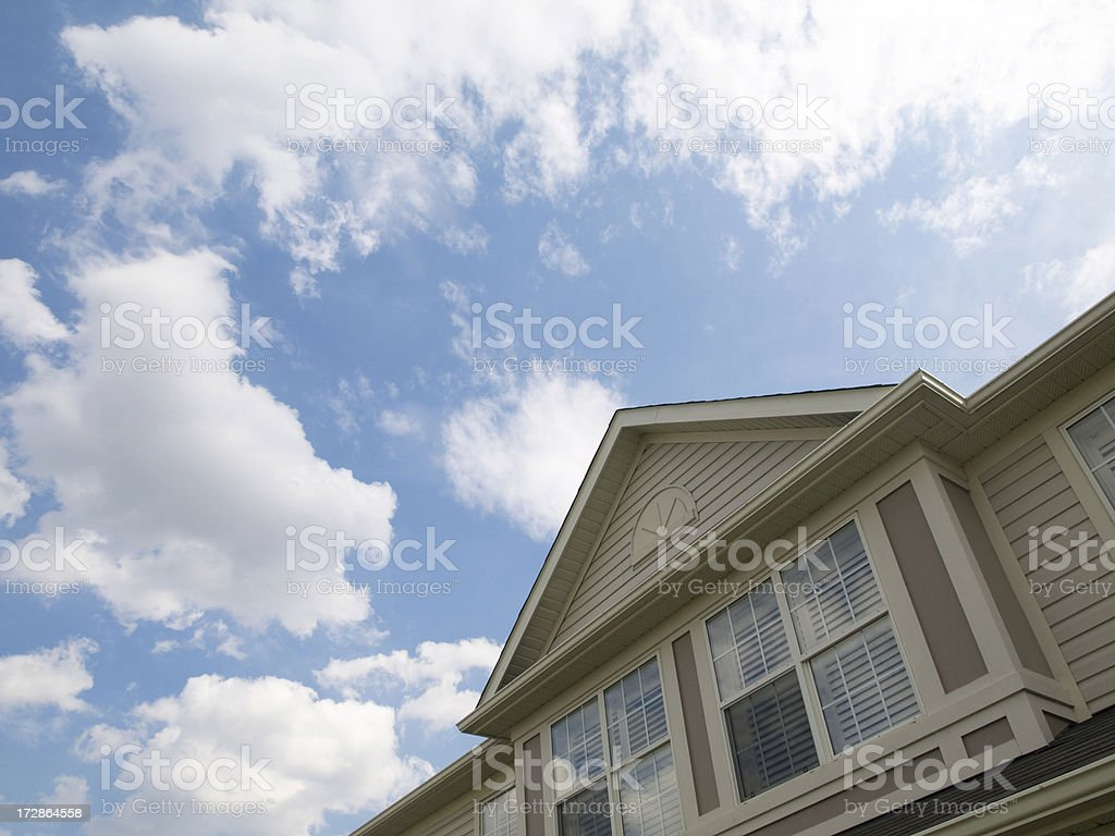 Roof Gable royalty-free stock photo